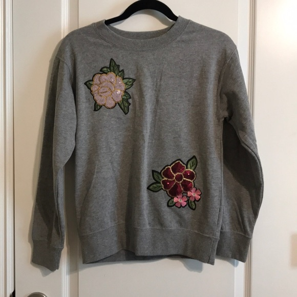Ultra Flirt Womens Velvet Ruched Crewneck Sweater